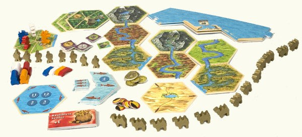 Catan Traders and Barbarians - Blue Herring Games - 2
