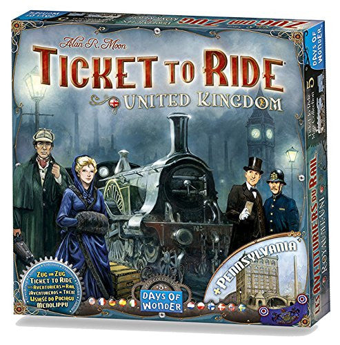 Ticket to Ride Map Collection Volume 5 : United Kingdom - Blue Herring Games - 1