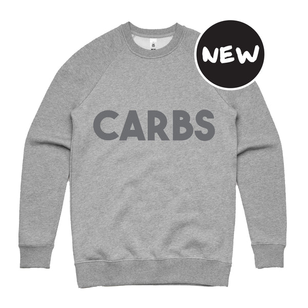 Carbs Sweatshirt - foodythreads