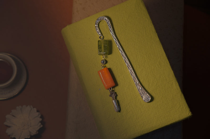 Carrot Themed Bookmark