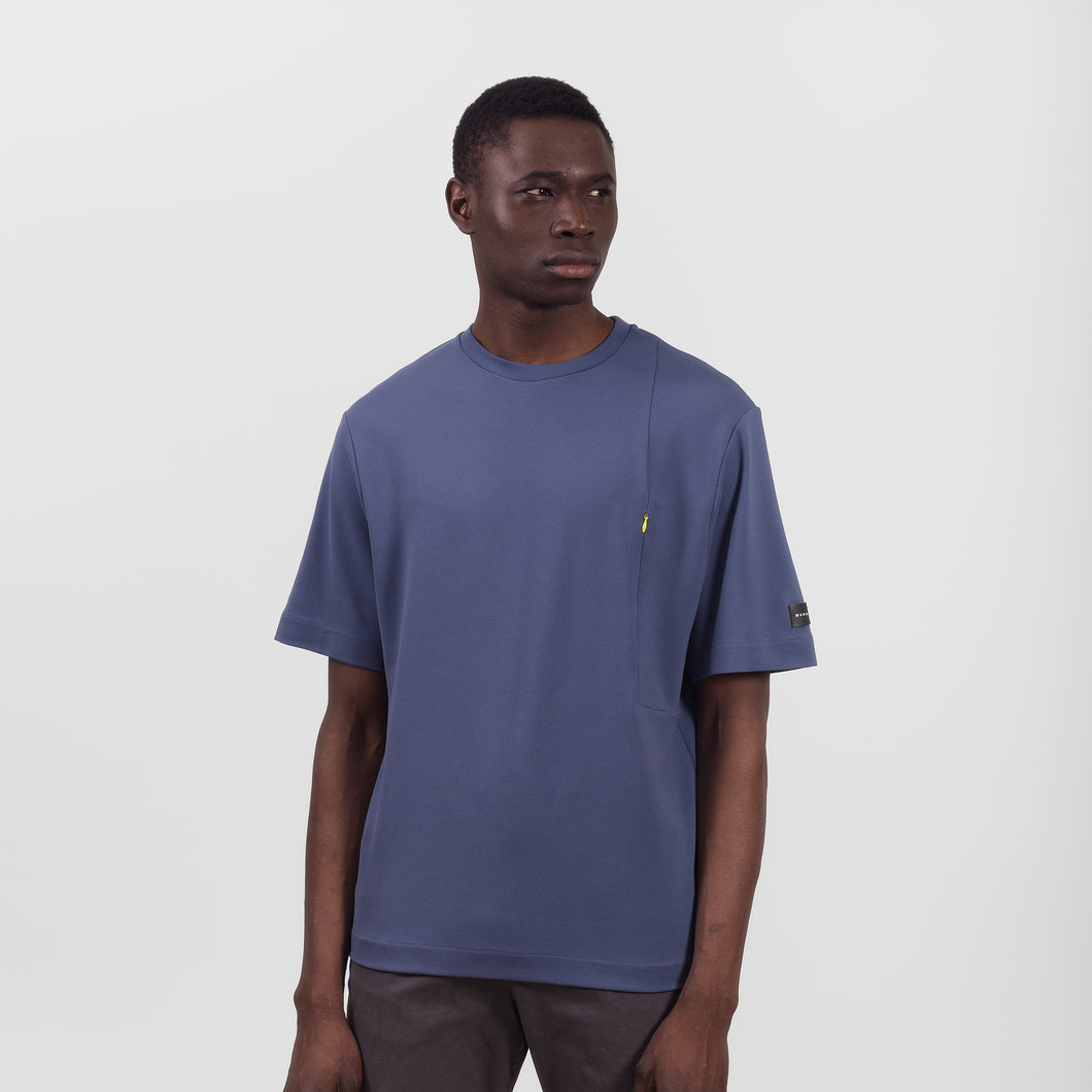 The Desk Navy Grey T-Shirt