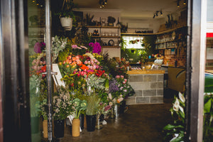 The Flower Shop is OPEN