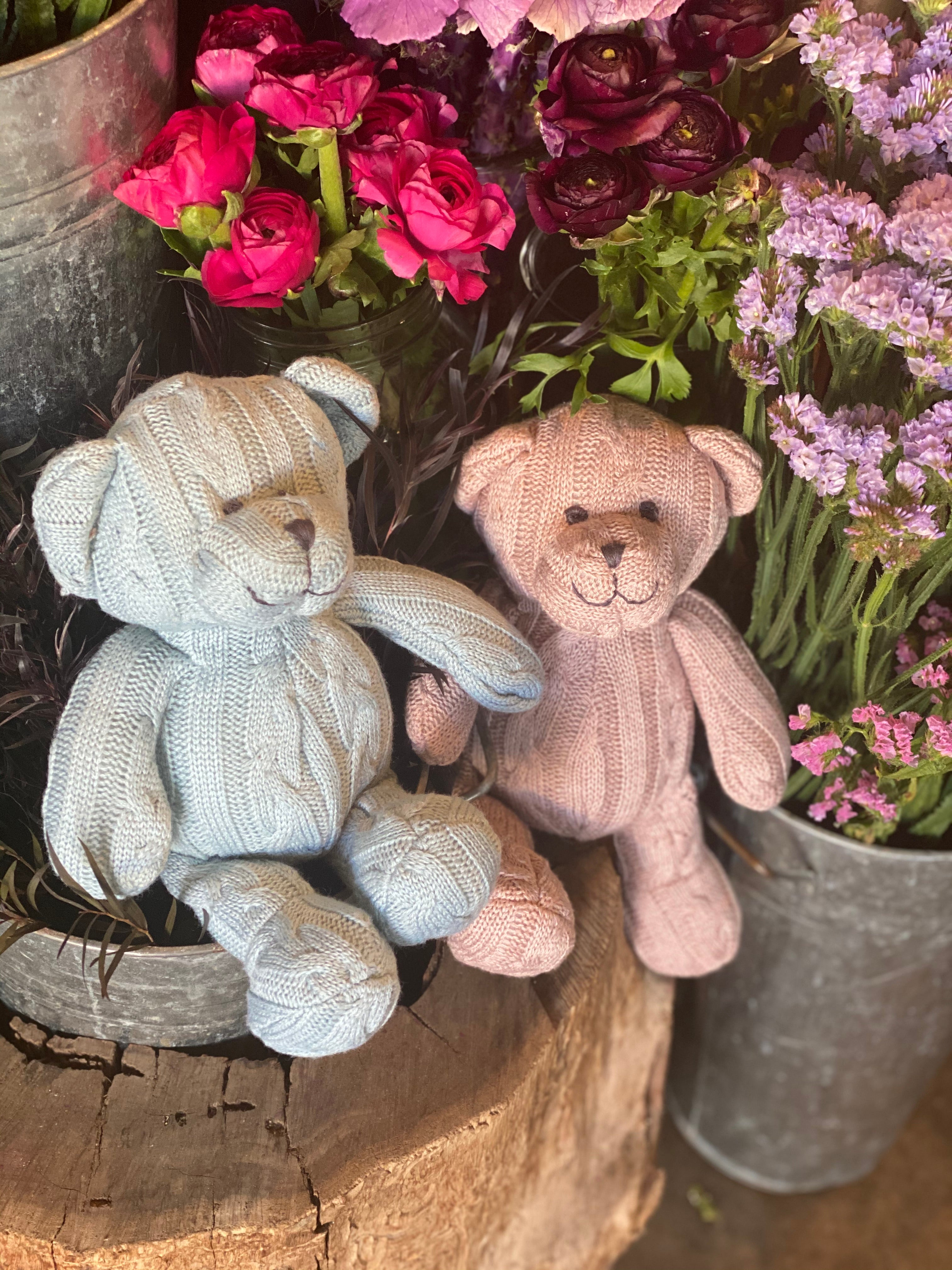 Cable Knit Teddies