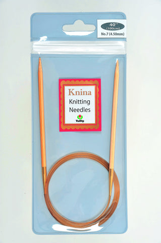 "Knina Swivel Knitting Needles (40""/100cm)"