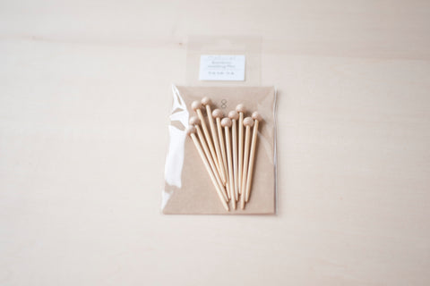 Seeknit Natural Bamboo Marking Pins