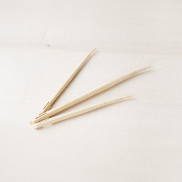 Seeknit Natural Bamboo Blunt Needles Set