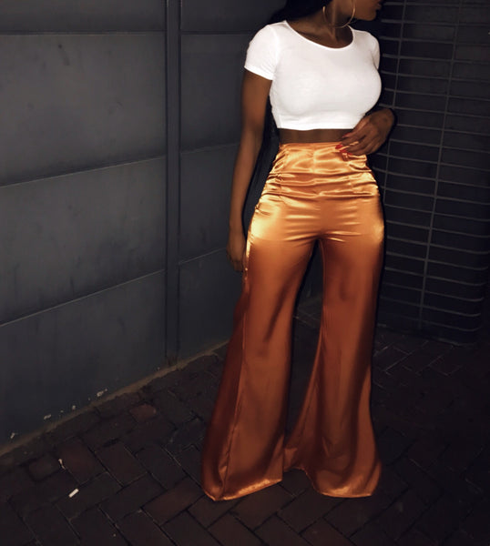 deep gold trouser