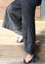 Black Lace Trouser