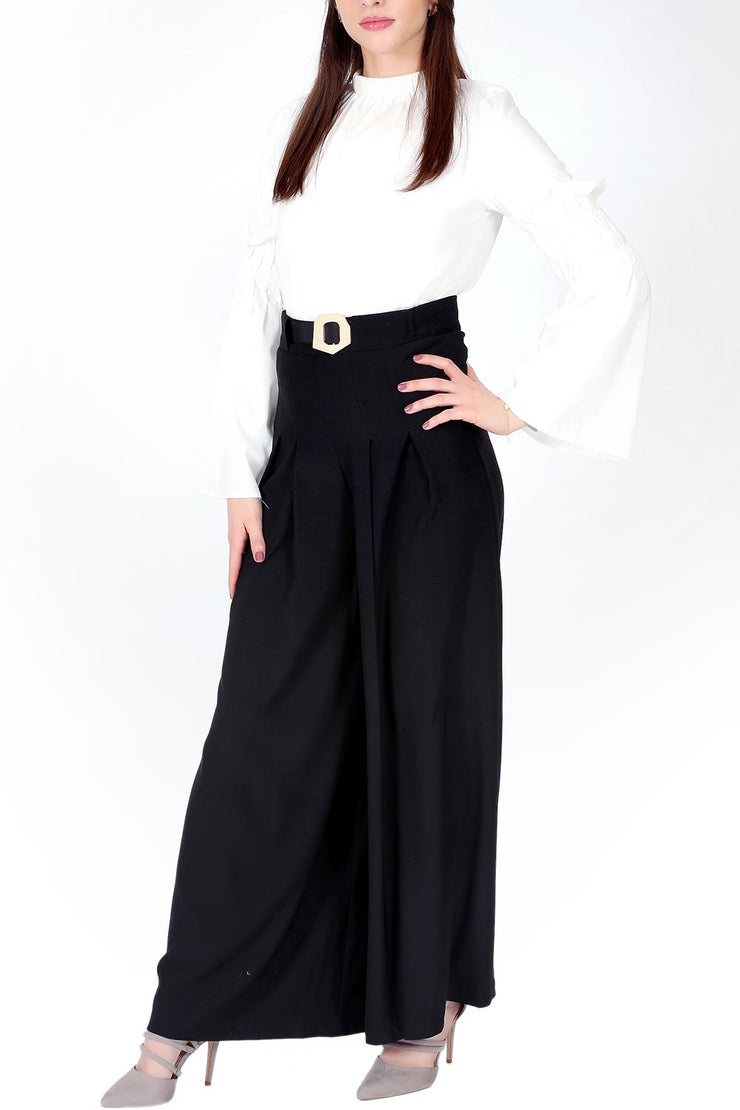 Black Box Pleated Palazzo Pants