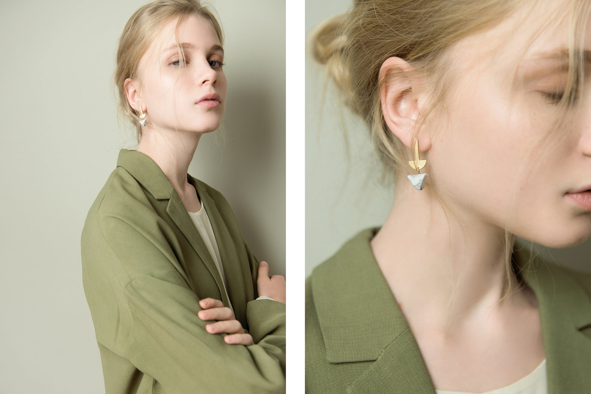 Baiushki Lookbook Jewelry Pendel Earrings