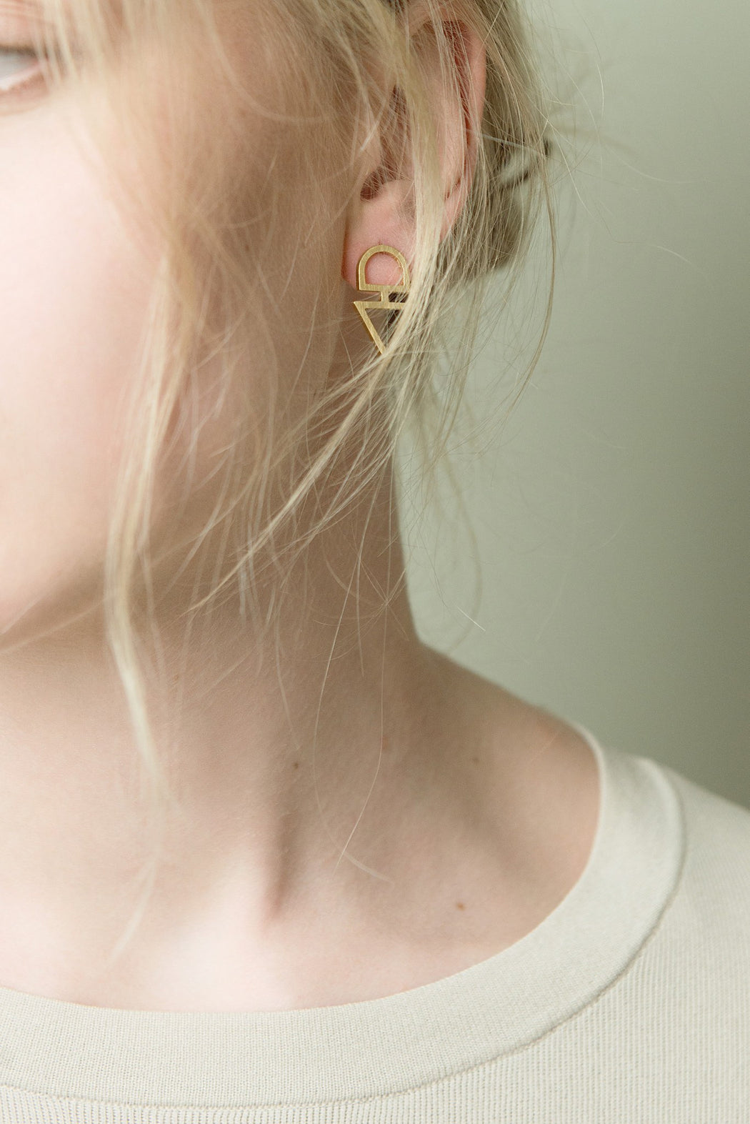 BAIUSHKI ARROW earrings