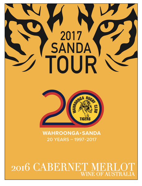 Wahroonga Tigers Cabernet Merlot 2016