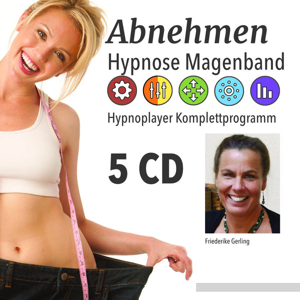 Abnehmen Hypnose Magenband CD Cover