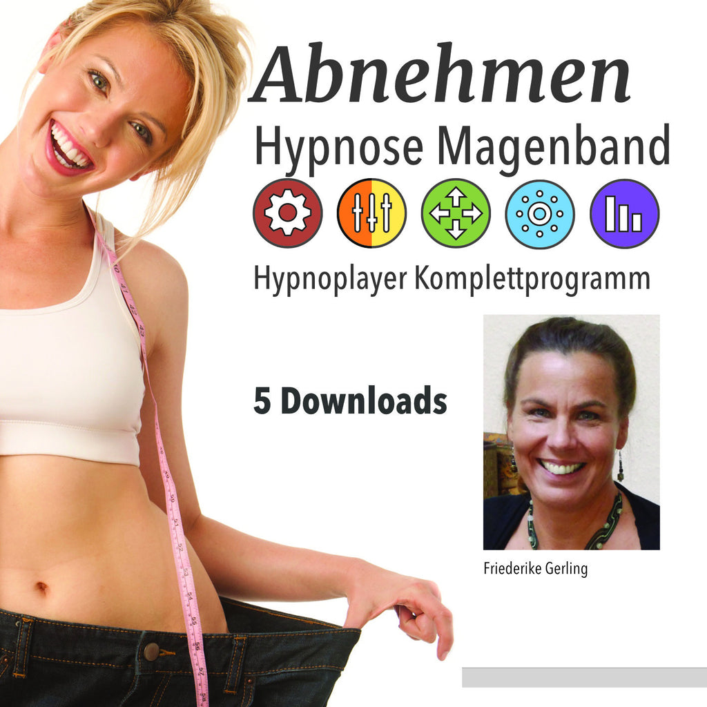 Abnehmen Hypnose Magenband Download Cover
