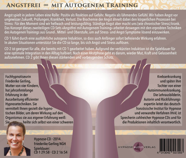 Angstfrei mit autogenem Training - 2-CD-Set - Inlay