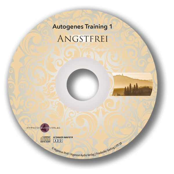 Angstfrei mit autogenem Training - 2-CD-Set - Label1