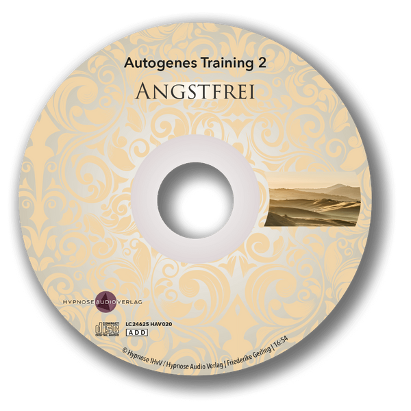 Angstfrei mit autogenem Training - 2-CD-Set - Label2