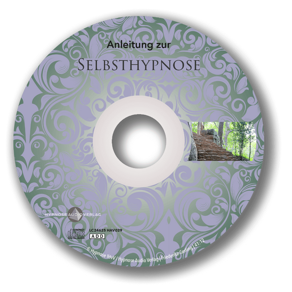 Selbsthypnose Anleitung auf CD - Label