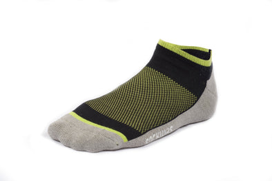 Bamboo No Show Socks - 3 Pack