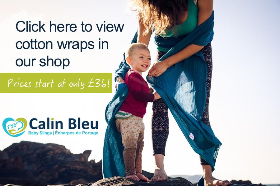 Click here to view cotton wraps in our shop. Prices start from £36!