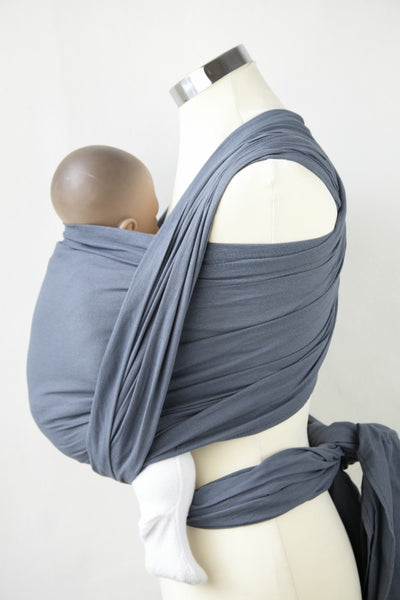 Mountain Grey cotton gauze wrap