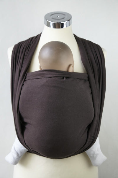Chocolate cotton gauze wrap