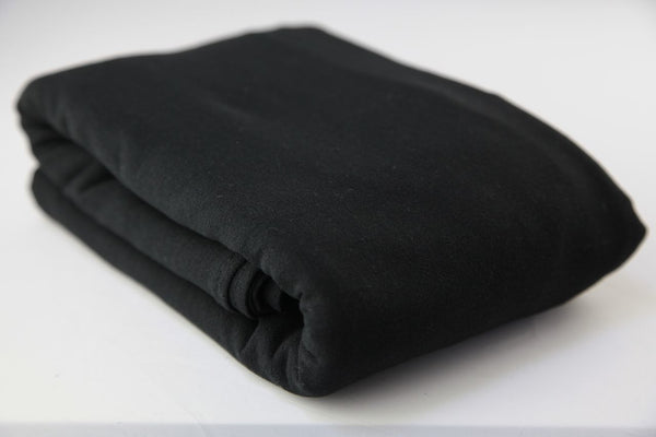 Midnight Black cotton gauze wrap