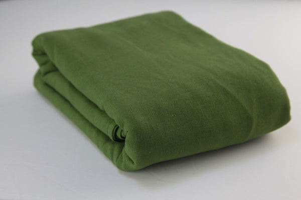 Olive cotton gauze wrap