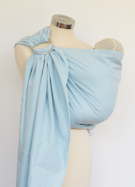 Summer Sky Cotton Ring Sling