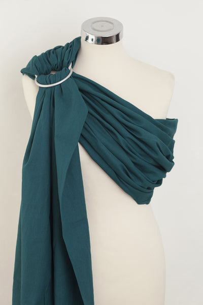 Ocean Teal Cotton Ring Sling