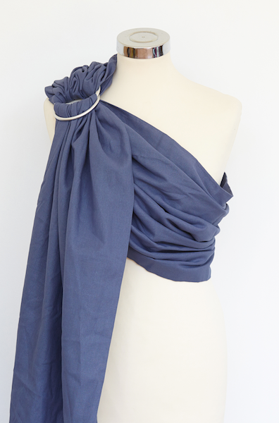 Mystic Blue Cotton Ring Sling