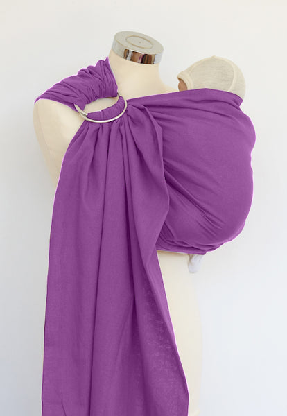 Amethyst Cotton Ring Sling