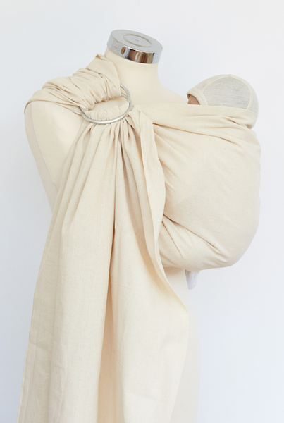 Natural Cotton Ring Sling