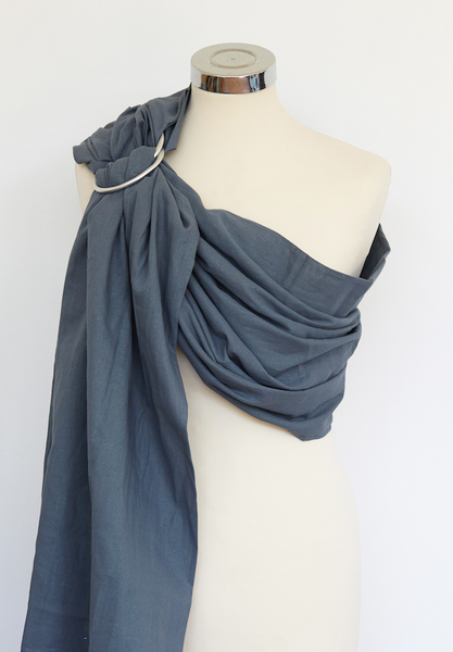 Mountain Grey Cotton Ring Sling