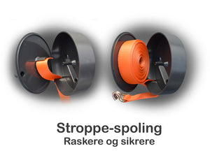 DrumRoll til 50mm lastestropper.