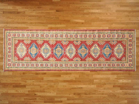 11299 - Vegetable Dye Wool Hallway Runner Rug - 80X300cm