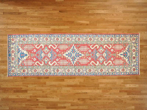 22617 - Vegetable Dye Wool Hallway Runner Rug - 80X300cm