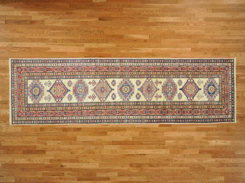 11701 - Vegetable Dye Wool Hallway Runner Rug - 80X300cm