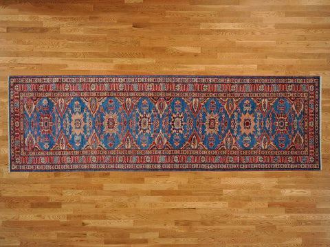 11812 - Vegetable Dye Wool Hallway Runner Rug - 80X300cm