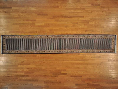 16087 - Vegetable Dye Wool Hallway Runner Rug - 80X500