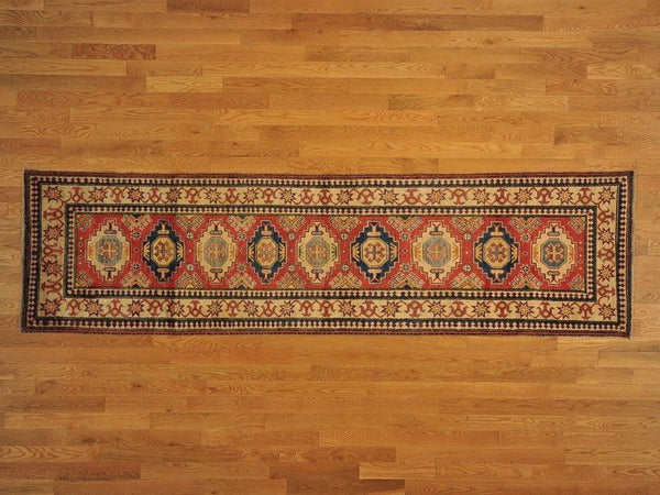 10568 - Vegetable Dye Wool Hallway Runner Rug - 80X300cm