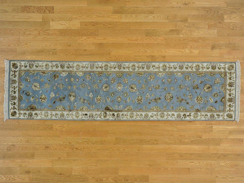 23033 - Vegetable Dye Wool Hallway Runner Rug - 80X300cm