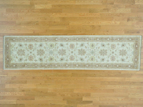 26995 - Vegetable Dye Wool Hallway Runner Rug - 80X330cm