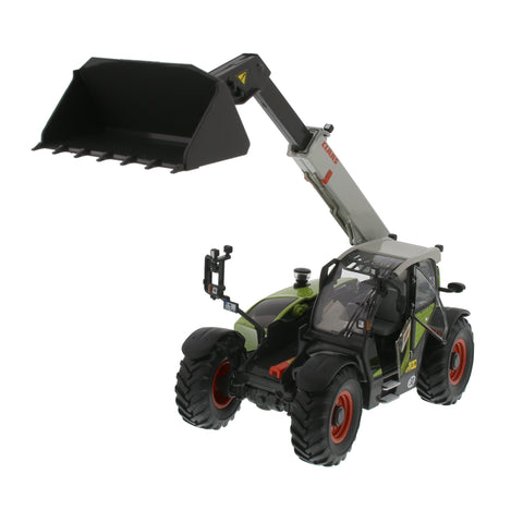 CLAAS 7044 WITH LOADER scale model