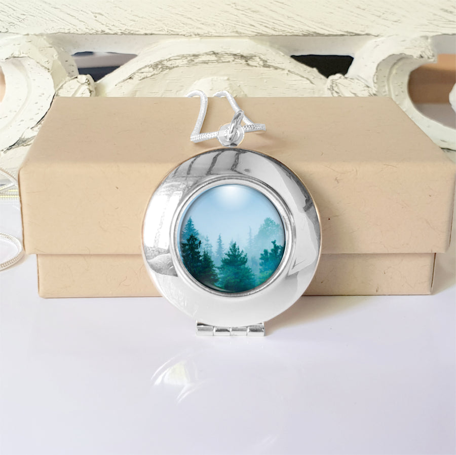 Forest Locket Necklace
