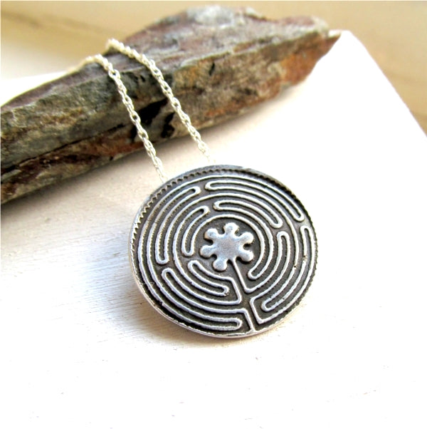 Chartres Labyrinth Pendant