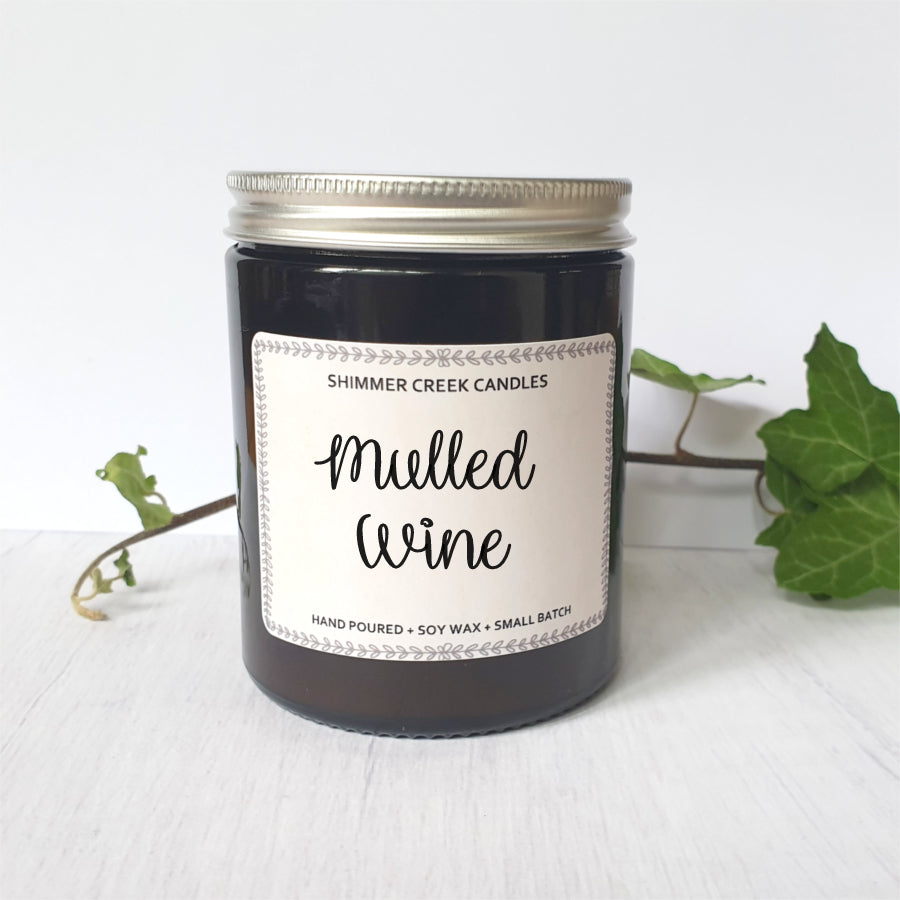 Mulled Wine Holiday Soy Wax Candle
