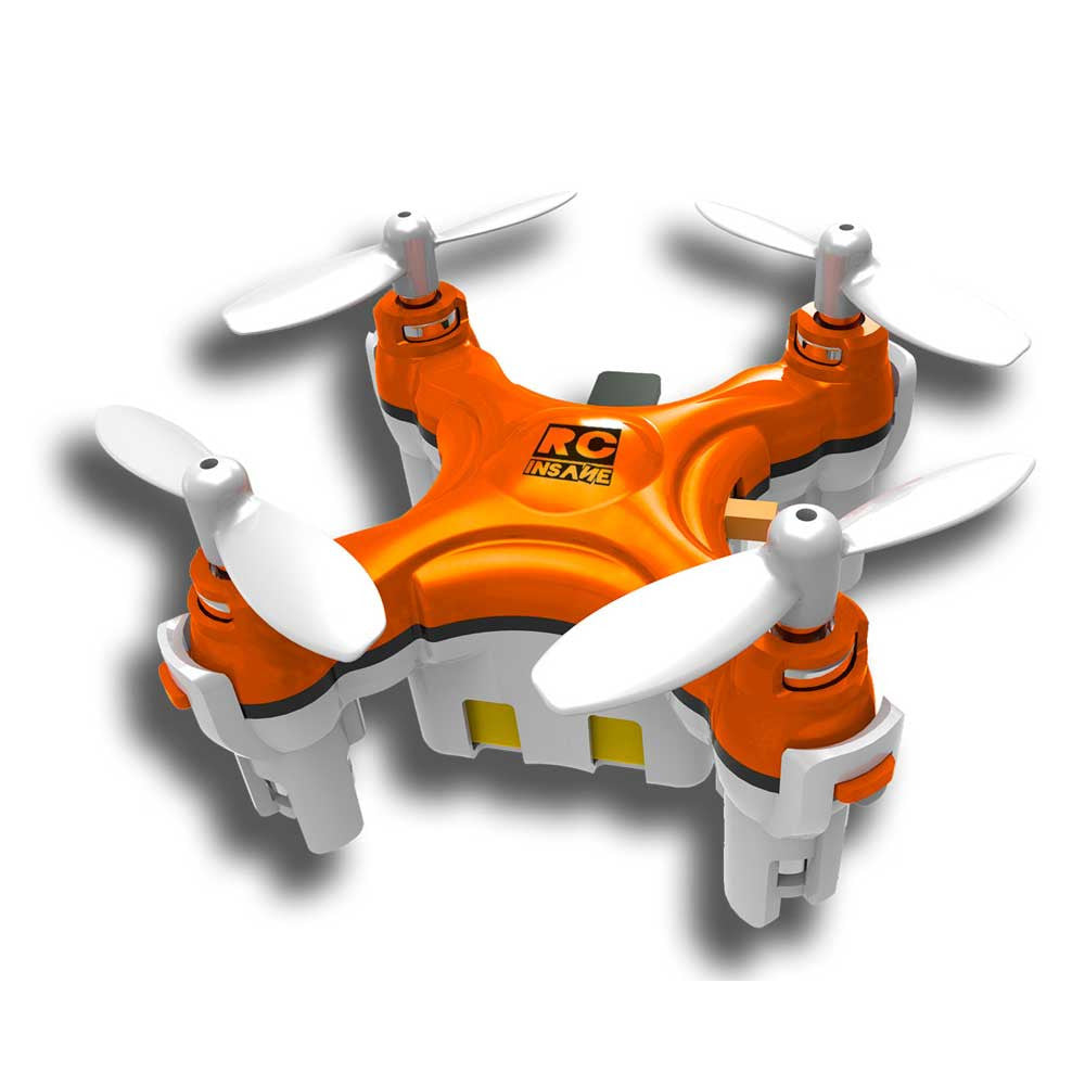 BuzzBee - The World's Smallest Quadcopter
