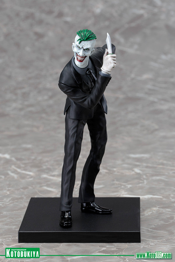 The Joker! An iconic villain joins the ARTFX+ line-up!