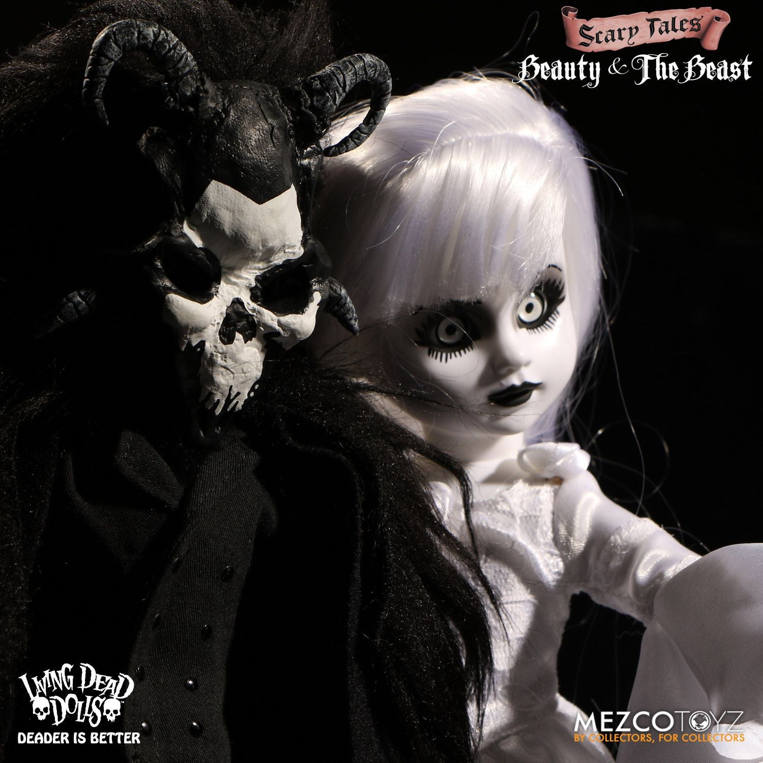 LIVING DEAD DOLLS: BEAUTY AND THE BEAST SET (PRE-ORDER)